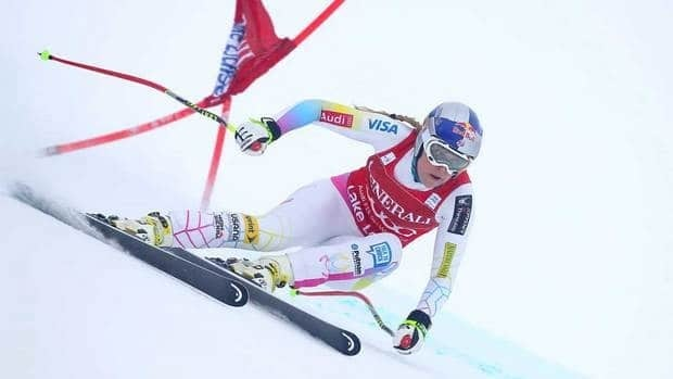 Lindsey Vonn has four straight wins in World Cup speed races this season.