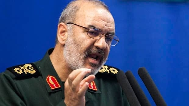Hossein Salami, deputy head of Iran's Revolutionary Guard, says his country's armed forces will target any location used for hostile operations against Iran.