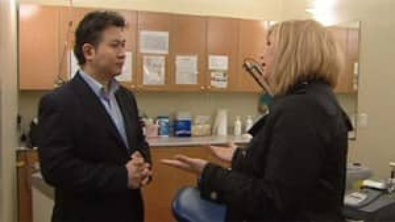 Botox injected by unlicensed practitioners cbc news eddie lee acknowledges to cbcs natalie clancy that he is not a real doctor cbc solutioingenieria Gallery
