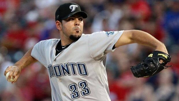 Carlos Villanueva posted a 6-4 record with a 4.04 ERA in 33 appearances for Toronto last year.