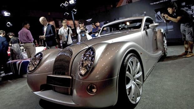 A Morgan Aero Coupe is shown at the China Luxury exhibition in Beijing on June 9. A new report suggests high net worth individuals saw their wealth decline in 2011 for the first time since the 2008 financial crisis.