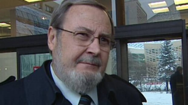 Edmonton East MP Peter Goldring was in court for Friday's pretrial hearing.