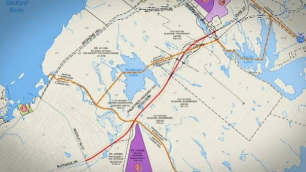 The province and Dexter Construction cannot agree on the route or the price.