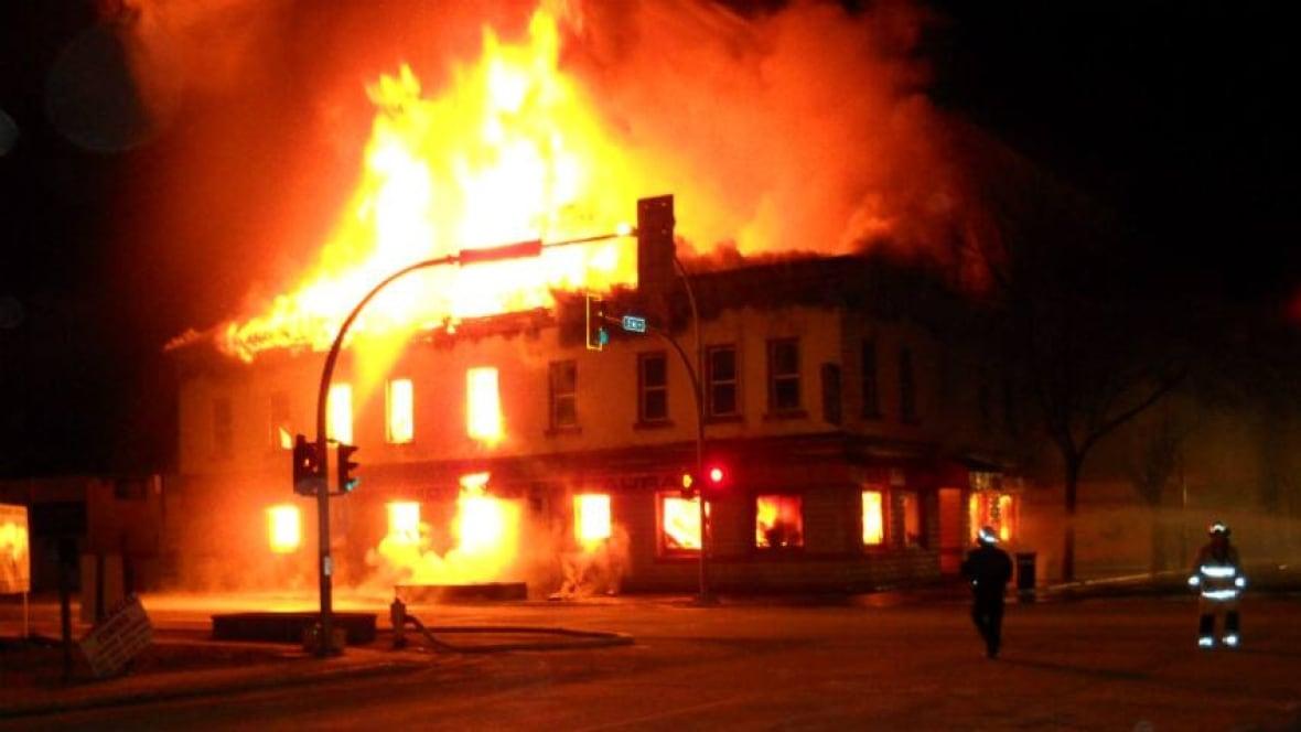 London Hotel Fire