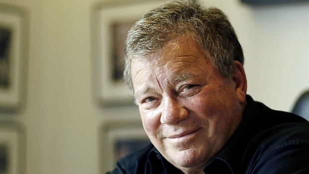William Shatner poses for a portrait in Los Angeles in Nov. 2011. THe 81-year-old actor is delivering two performances of his one-man show Shatner's World at Hamilton Place on Saturday.
