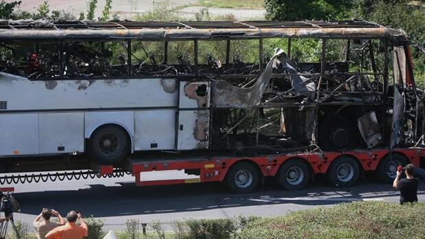 Israel's prime minister has said that his country is on alert for plots to kill more of its citizens overseas, after speculation that last week's deadly bombing of a tour bus in Bulgaria was a rehearsal for an attack on Israel's Olympics team. (AP Photo/ Impact Press Group)
