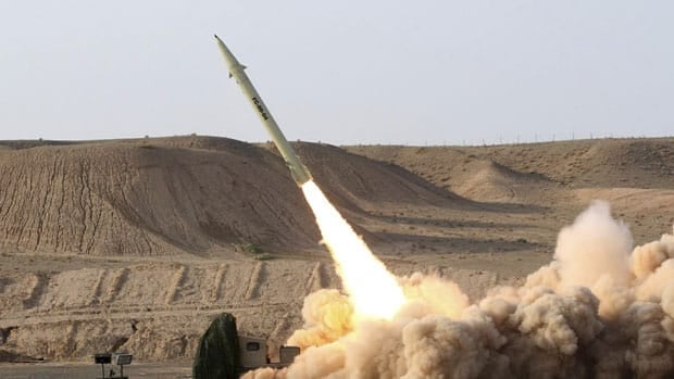Iran claims it successfully test-fired the solid-fueled Fateh-110 which has a range of 300 kilometres and the ability to hit sea targets.