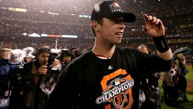 San Francisco Giants catcher Buster Posey has developed into the club's unquestioned leader.