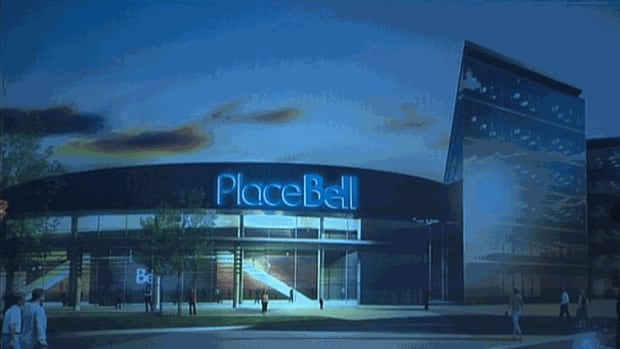 An illustration of the arena planned for Laval.