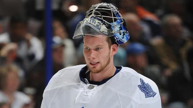Toronto Maple Leafs goalie James Reimer was sidelined for six weeks earlier in the season with concussion-like symptoms.