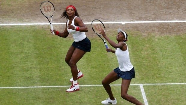 Serena Williams, left, and sister Venus won Wimbledon, then followed with a gold medal at the London Olympics and will now try for their first U.S. Open championship since 2009.
