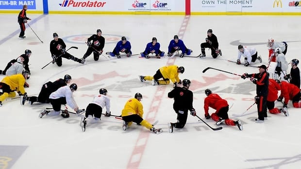 Since flying out of Calgary on Saturday, Team Canada players have been on a strict schedule to avoid jet lag and travel fatigue.
