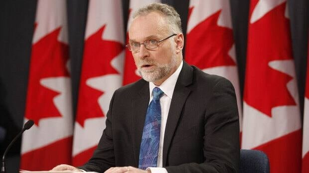 Auditor General Michael Ferguson held a news conference shortly after tabling his spring report. His report provides a revealing look inside the CRA's methods of ensuring tax compliance.