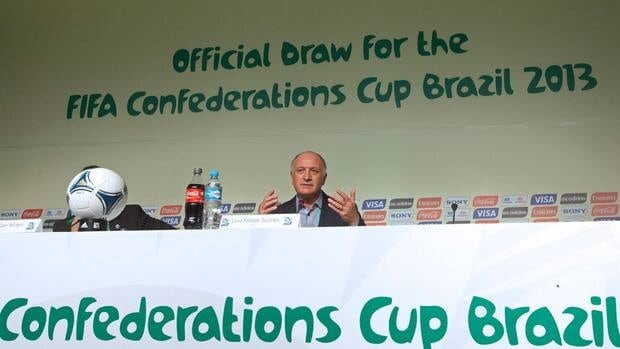Brazil will host the 2013 Confederations Cup from June 15-30.