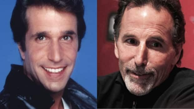 Lookalikes Arthur Fonzarelli, left, and New York Rangers coach John Tortorella go head-to-head.