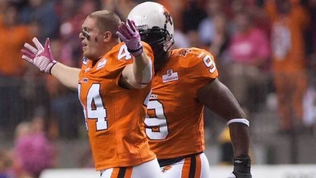 B.C. Lions' Adam Bighill earned defensive player of the week honours on four occasions and was defensive player of the month for October.