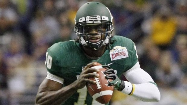 Baylor quarterback Robert Griffin III has declared for the NFL draft.
