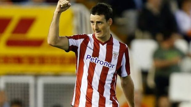 Athletic Bilbao's Aritz scored his team-high 10th league goal of the season in the 11th minute.