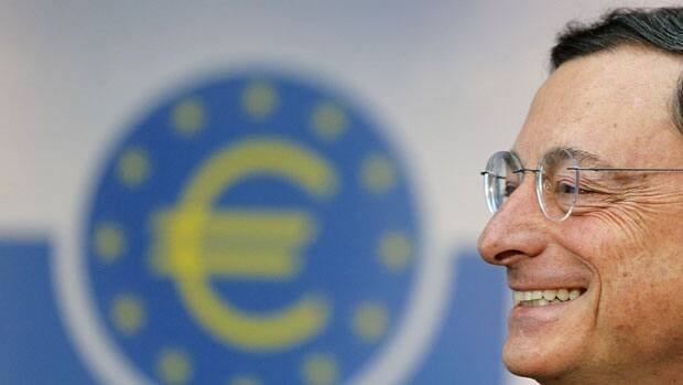 "The President of European Central Bank, Mario Draghi, said Thursday that financial market confidence ""has visibly improved"" as the eurozone struggles with its debt crisis."