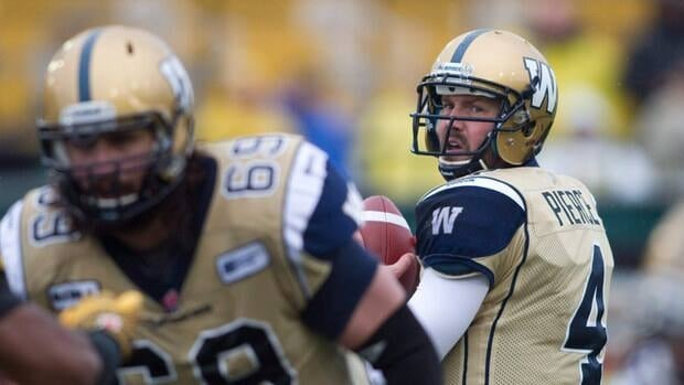 Buck Pierce led Winnipeg to a Grey Cup appearance in 2011, but that campaign has been sandwiched by injury-hampered seasons.