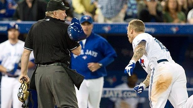 Brett Lawrie has since apologized to umpire Bill Miller.