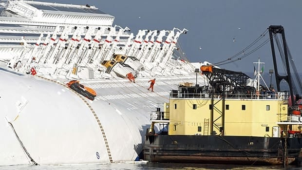 Costa Concordia Fuel Removal Preparations Begin  World