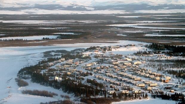 The Inupiat village of Noorvik in Western Alaska is seen in this January 24, 2010 handout.