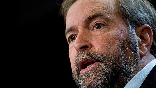 "NDP Leader Tom Mulcair is trying to move the NDP towards a more pro-trade position, selectively supporting some agreements. International Trade Minister Ed Fast's office says ""a leopard can't change its spots."""