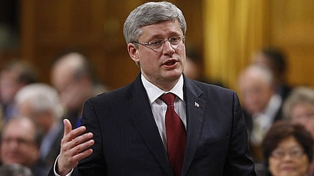 Prime Minister Stephen Harper says old age security won't be cut, despite a speech he gave last week in which he said the government would look at ways to make the retirement income system sustainable.