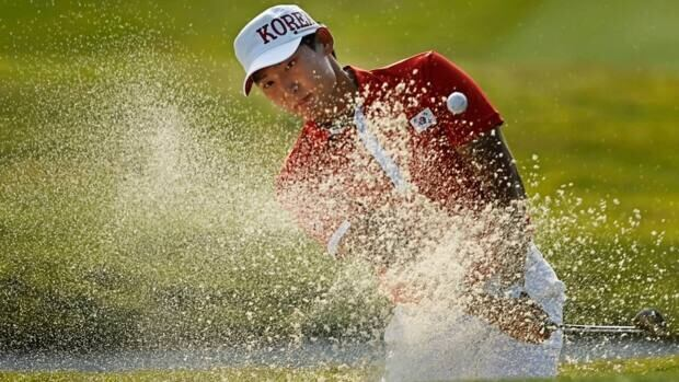 South Korea's Kim Meen Whee, seen here competing in the 2010 Asian Games in Ghangzou, China, fired a 9-under 63 on Thursday second round of the PGA Tour qualifying tournament.