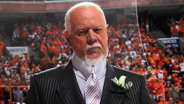 Hockey Night in Canada commentator Don Cherry reacted on Twitter to the latest lockout developments from Day 82 on Thursday night.