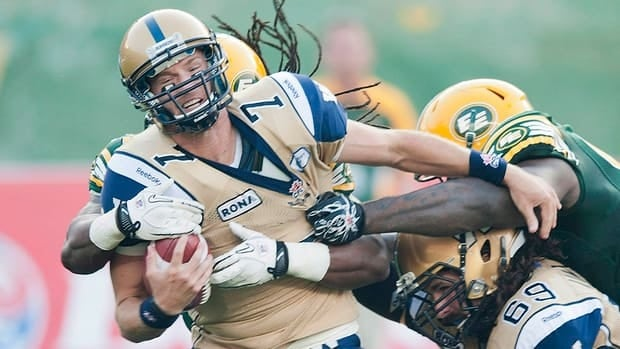 Winnipeg Blue Bombers Alex Brink gets another chance at quarterback. The team's third string quarterback posted a 1-2 record earlier in the season while starter Buck Pierce was out with an injury.