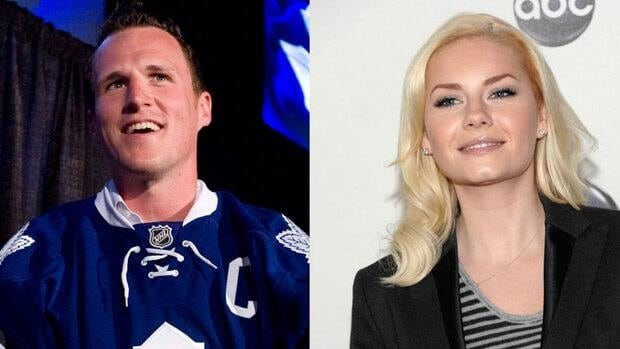 Dion Phaneuf and Elisha Cuthbert announced their engagement on P.E.I. Sunday.