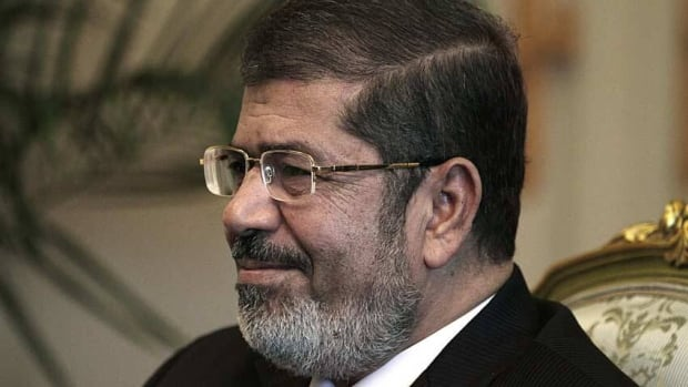 Morsi spoke to the New York Times on the eve of his first visit to the United States as Egypt's president