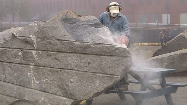 Six sculptors from around the world have come to Saint John to carve art out of granite.