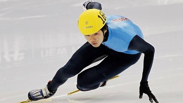 Simon Cho of the United States admitted Friday to tampering with a Canadian rival's skates, but claimed he did so under pressure from his coach.