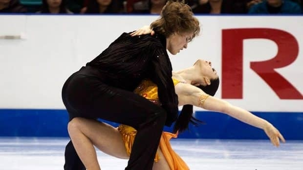 Canadian ice dancers Nicole Orford, right, and Thomas Williams, pictured at prior event, placed sixth at the world junior championships Friday in Minsk, Belarus.