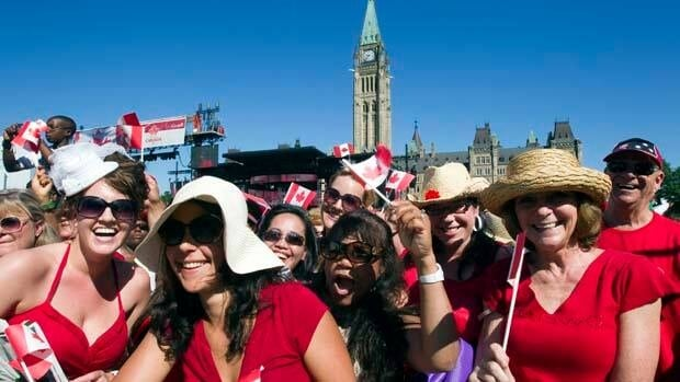About half a million people are expected to celebrate Canada Day in Ottawa this year.
