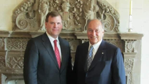 Foreign Affairs Minister John Baird, left, met with the Aga Khan, leader of the world's Ismaili Muslims, in September to discuss the government's proposed Office of Religious Freedoms. Critics suggest non-Judeo-Christian religions have been under-represented in consultations for the office.