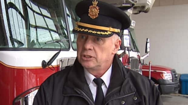 Brian Smith is the deputy chief of support services for the St. John's Regional Fire Department.