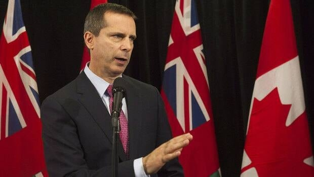 Ontario Premier Dalton McGuinty said taxpayers should not expect the Liberal party to help pay the bill.