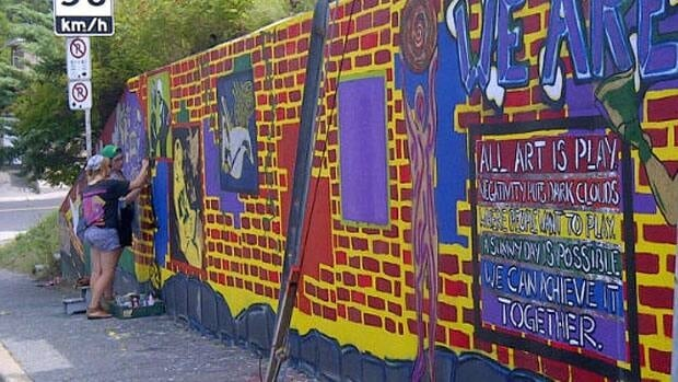 As a sign of respect, graffiti artists are known to avoid tagging areas that already have an artistic presence.