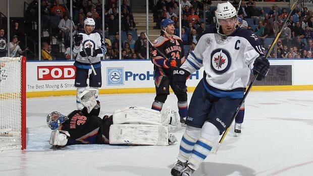 Winnipeg Jets captain Andrew Ladd would have been the second Canadian-born player to join the KHL since the beginning of the NHL lockout last month.