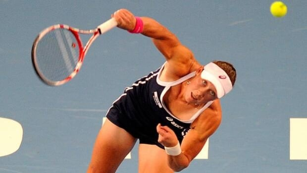 Samantha Stosur advanced to the quarter-finals of the Japan Open in Osaka on Wednesday.