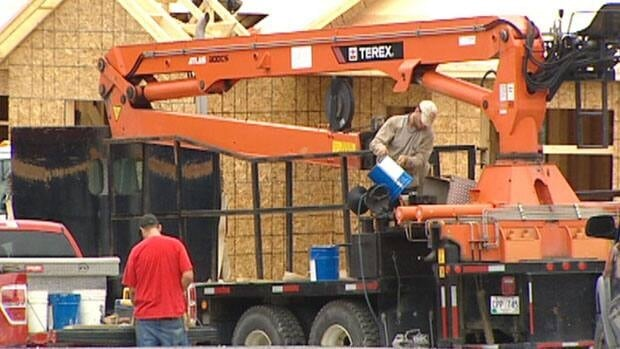 A slowdown in new home construction is underway across Canada.