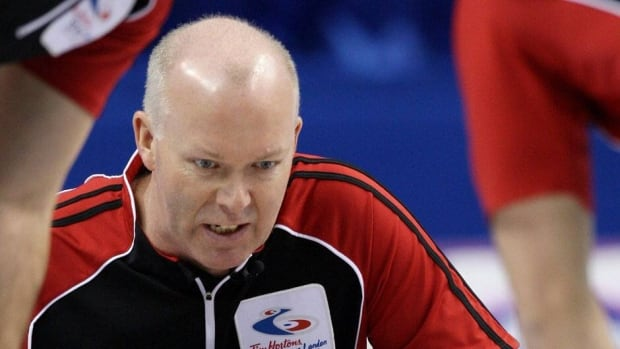 Glenn Howard, shown here competing at last year's Brier, has been perfect at the tournament after storming through the round robin with a 10-0 record.