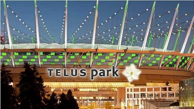 Part of the Telus proposal included a name change from BC Place to Telus Park according to documents released on Tuesday.