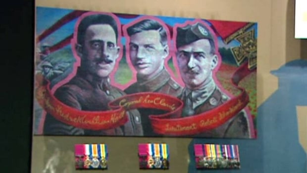Manitoba Museum will display the Victoria Cross medals of First World War veterans Cpl. Leo Clarke, Sgt.-Major Frederick William Hall and Lt. Robert Shankland from Aug. 6 to Nov. 14.