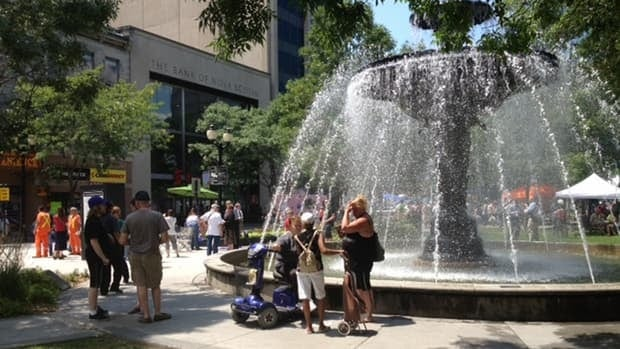 In the Neighbourhood will broadcast live from Gore Park on Tuesday morning.