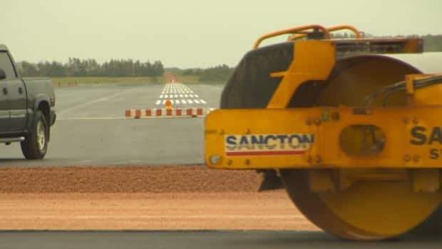 Runway construction, combined with heavy rainfall, has caused some delays and cancellations at Charlottetown Airport.